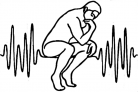 the-thinker-outline fixed waveform